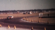 Stock Video Footage of Ford GT40, 24 Hours of Daytona 1966
