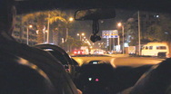 Driving the Streets of Cairo, POV Passenger Stock Footage