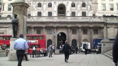 Bank of England Building Stock Footage