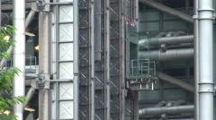 Lifts at the Lloyds Building Stock Footage