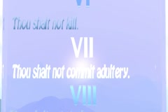 7th Commandment Sapphire English Stock Footage
