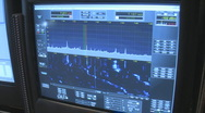 Radio Signal Software - HD1080 Stock Footage