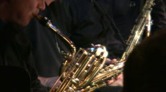 Saxophone Stock Footage
