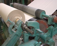 Roll paper Stock Footage