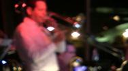 Jazz Trombone Player Stock Footage