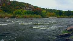 Fast river stream (Full HD) Stock Footage
