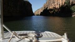 Catherine gorge, Australia Stock Footage