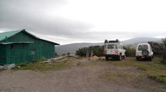 Mt Kenya old Mozes camp P2 Stock Footage