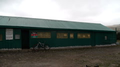 Mt Kenya old Mozes camp P1 Stock Footage