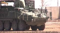 U. S. Army Stryker Stock Footage