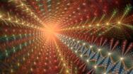 Shining star spiral Stock Footage