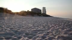 Seagrove Beach Florida Stock Footage