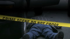 Stock Video Footage of Crime Scene 1aa