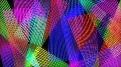Color Kinetic (loop) Stock Footage