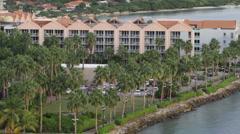 Stock Video Footage of Aruba Hotel & Airport