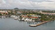 Aruba, L.G. Smith Blvd, Oranjestad Stock Footage
