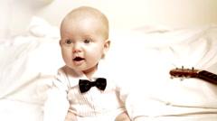 Little, sweet baby. Stock Footage