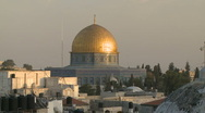 Stock Video Footage of Dome Of The Rock