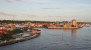 Stock Video Footage of Willemstad, Long Shot