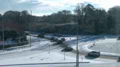 Icy Roads 2 Stock Footage