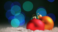 Christams background Stock Footage