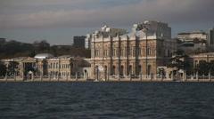 Dolmabahçe Palace  HD 1080p Stock Footage
