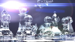 T304 shattered king defeated captured Stock Footage