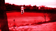 T304 MECH WALking on ice terminator robot killer robotic wicked Stock Footage
