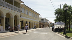 Stock Video Footage of Frederiksted, St Croix