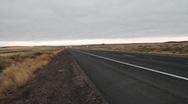Stock Video Footage of Truck on Desert Highway