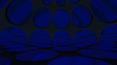 Blue Circle Virtual Stage C4 30p Stock Footage