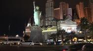 Stock Video Footage of Las Vegas at night