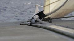 Catamaran Sail, POV Stock Footage