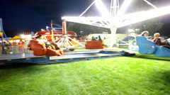 Carnival ride 6 - stock footage