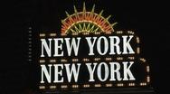 Stock Video Footage of New York, New York Las Vegas at night