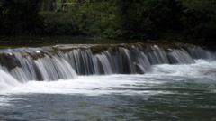 Waterfall jungle: Agua Azul - stock footage