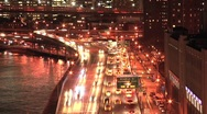 New York City timelapse with a lot of movement Stock Footage
