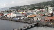 Stock Video Footage of Roseau, Dominica pier