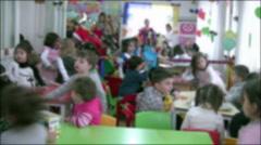 Preschool Kids Stock Footage