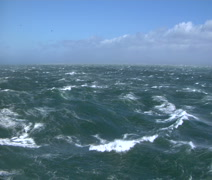 Stormy seas CU - stock footage