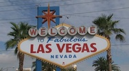 Las Vegas Sign Stock Footage