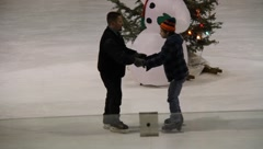 Ice Skating Rink 0508 Stock Footage