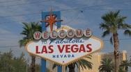 Stock Video Footage of Las Vegas Sign