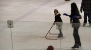 Ice Skating Rink 0483 Stock Footage