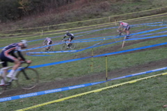 Cyclocross race. Lanes. SD. Stock Footage