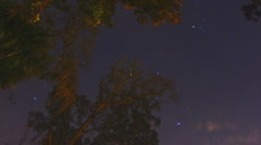 Orion, The Hunter, Constellation, 720HD timelapse Stock Footage