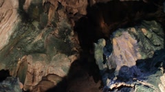 Curacao Hato Caves Stock Footage