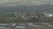 Stock Video Footage of English Working Town landscape
