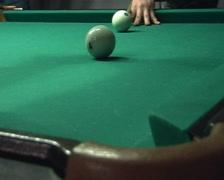 Russian Billiards Stock Footage
