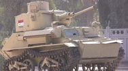 Stock Video Footage of Baby tank in Iraq 2